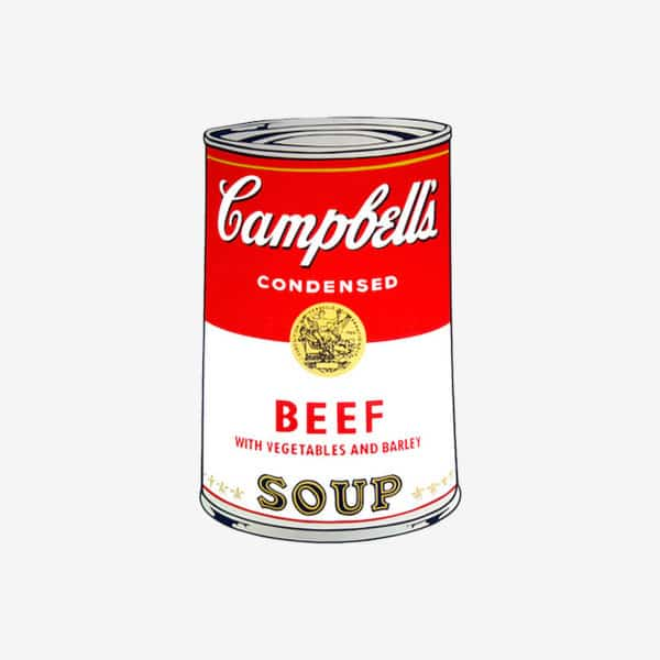 Andy Warhol - Beef Soup
