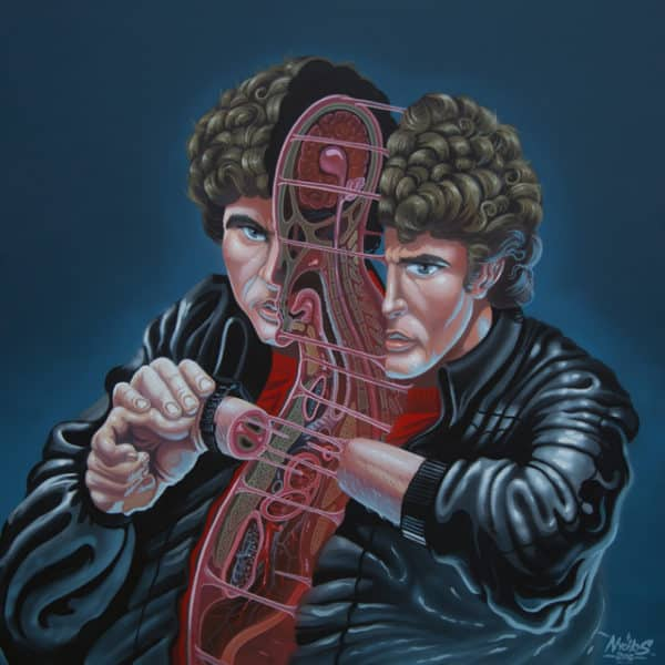 Dissection of Hasselhoff by nychos