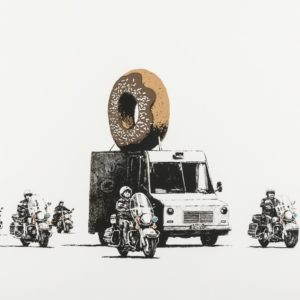 Donuts (chocolate) - Banksy