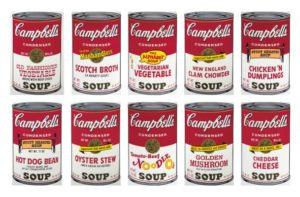 Campbell's Soup Complete Portfolio II By Andy Warhol