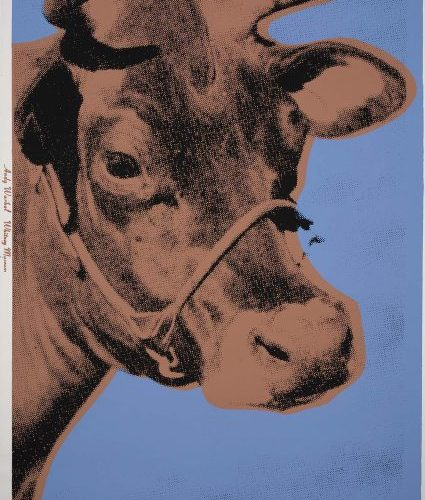 Cow 11A By Andy Warhol
