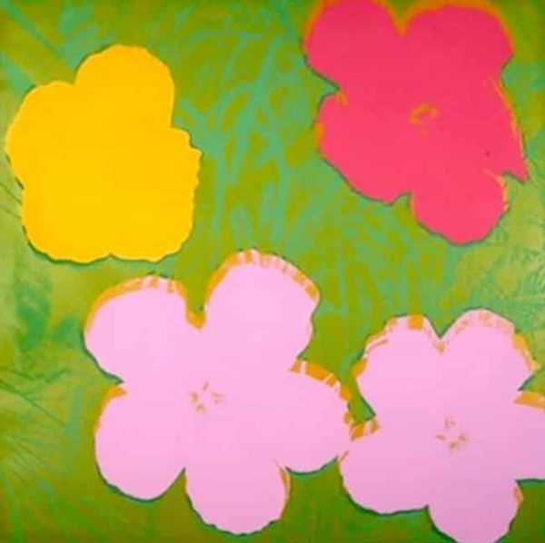 Flower 68 By Andy Warhol