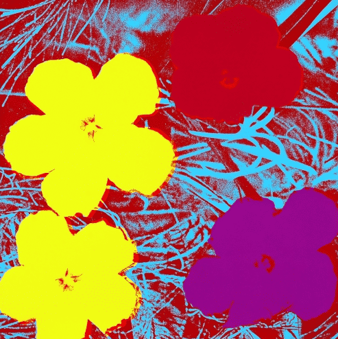 Flower 71 By Andy Warhol
