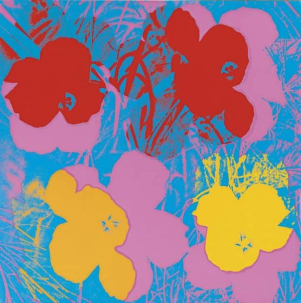 Flower 66 By Andy Warhol
