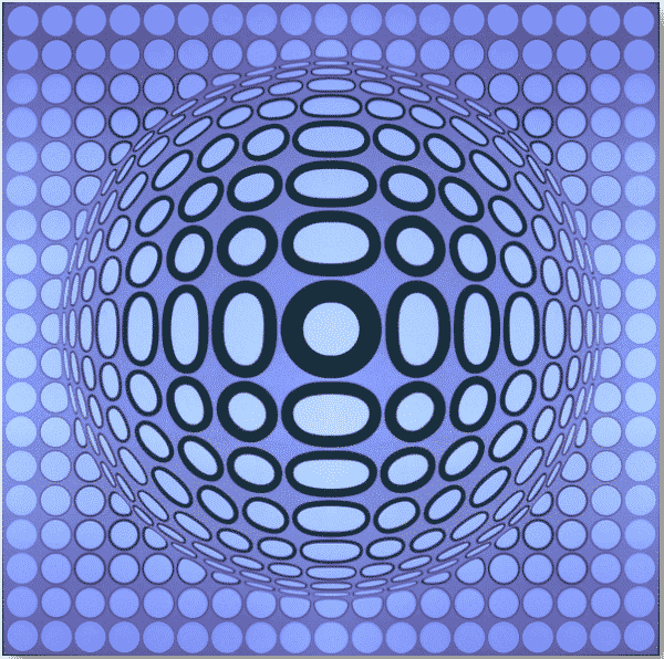 Tuz 2-3 By Victor Vasarely